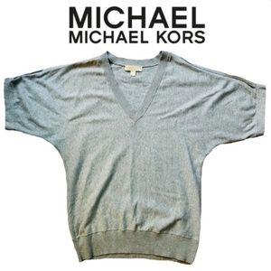 MICHAEL Michael Kors Cold Shoulder Sweater Top